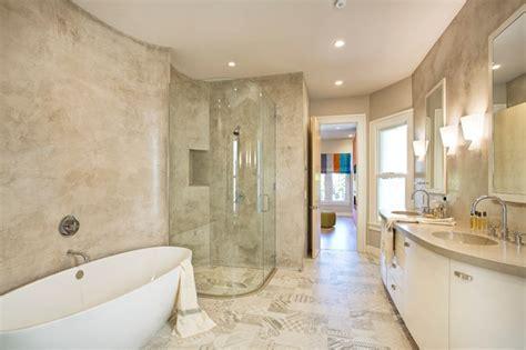 Pac Heights, Cement veneer plaster   Modern   Bathroom