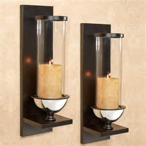 Hurricane Wall Sconce Lucrezia Contempo Hurricane Wall Sconce Pair