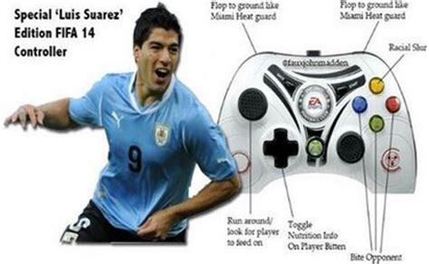 Suarez Bite Meme - luis suarez faces fifa ban after biting giorgio chiellini