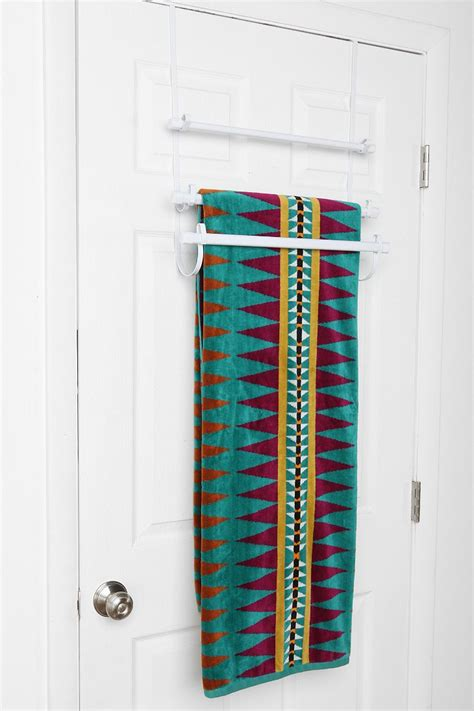 Towel Door Rack by The Door Towel Rack Outfitters