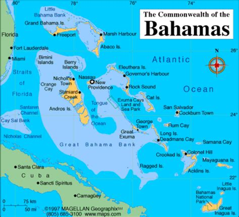 bahamas location map places i want to visit on tripline