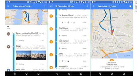 maps timeline reveals your location history in maps jul 22 2015