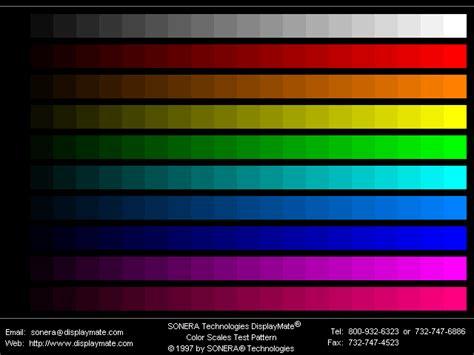 color test enac it1 web test page