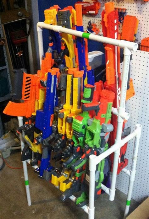 How To Build A Nerf Gun Rack by 17 Best Ideas About Nerf Gun Storage On