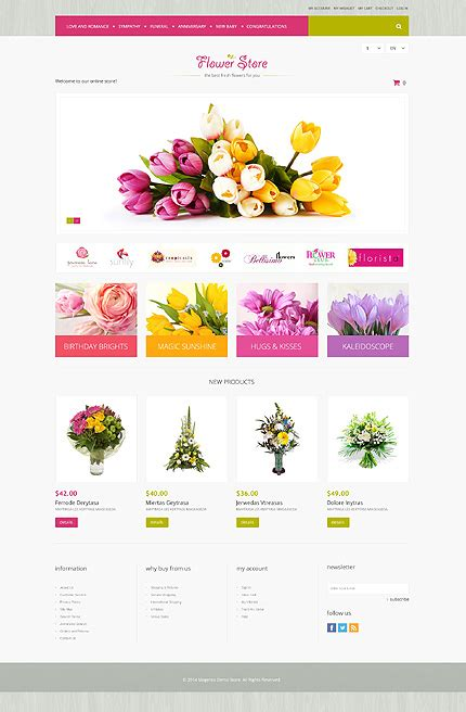 magento layout xml set template flowers type magento themes template 51290