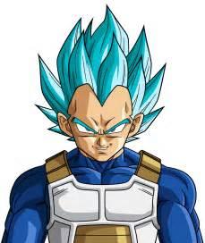 super saiyan blue vegeta budokai 3 rayzorblade189 deviantart