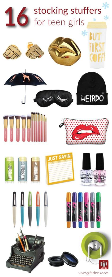 cute stocking stuffers 16 stocking stuffer ideas for teenage girls everything