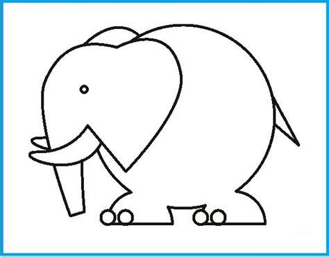 imagenes de elefantes faciles para dibujar imagenes de elefantes para dibujar e imprimir imagenes