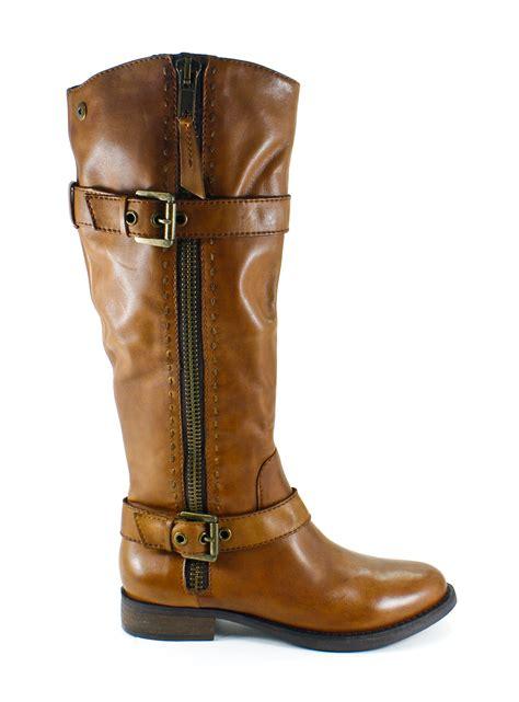 steve madden sonnya cognac leather cowboy boots shoes 8 new ebay