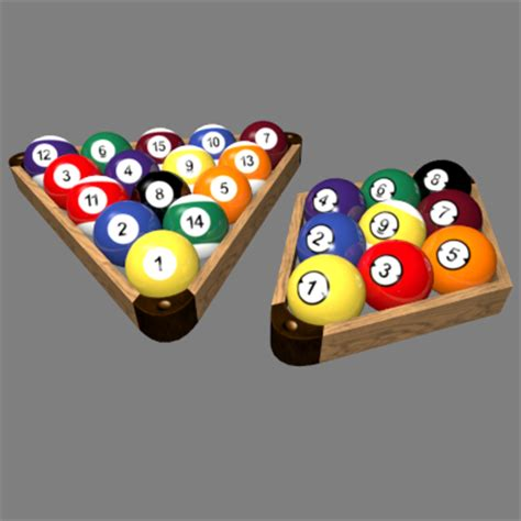 How Do U Rack Pool Balls by Tronitec Studios Billiard Racks 3d Billiard