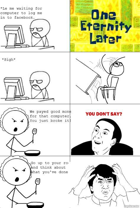 Derp Meme Comic - rage comic lol face