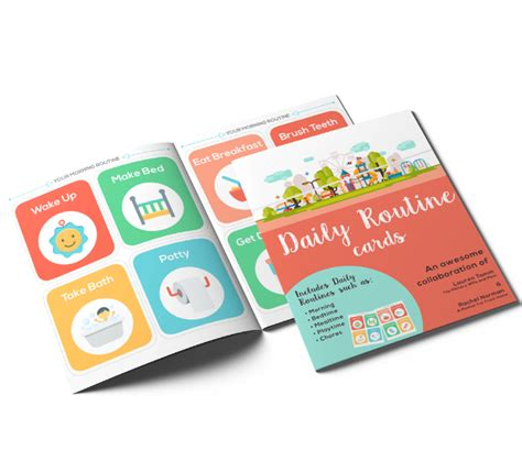 Daily Routine Cards Printable best printable daily routine picture cards for