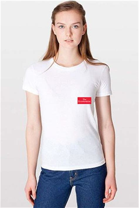 Tshirt Kaos Map Of World s t shirt economist logo the economist store