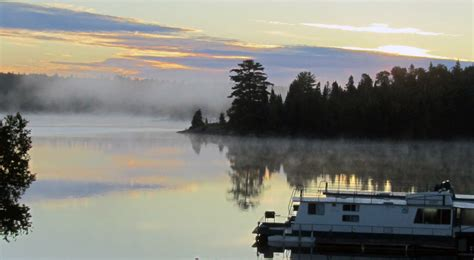 houseboats lake of the woods lake of the woods houseboats sunset country ontario canada