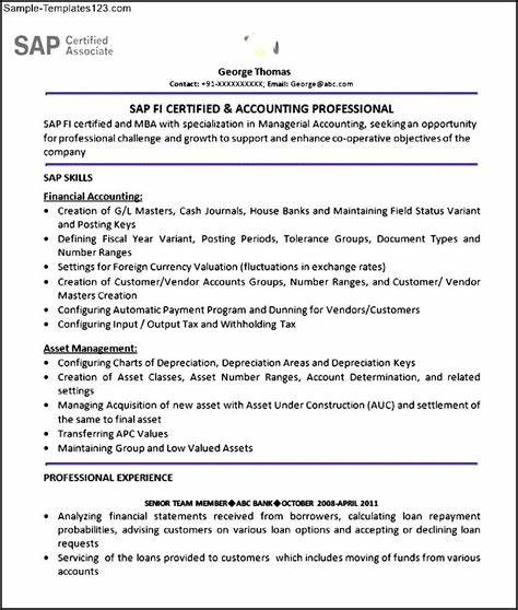 sap security consultant resume samples great resume sample for you - Sap Security Consultant Sample Resume