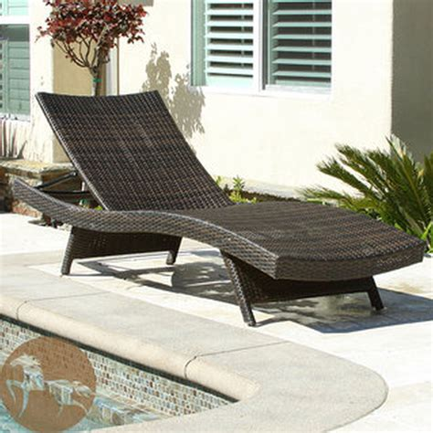 Wicker Patio Lounge Chairs by Patio Exciting Lowes Chaise Lounge For Cozy Patio