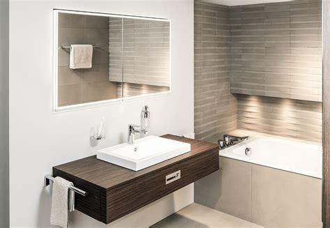 spiegelschrank illuminato mit jedem spiegelschrank das passende licht architektur