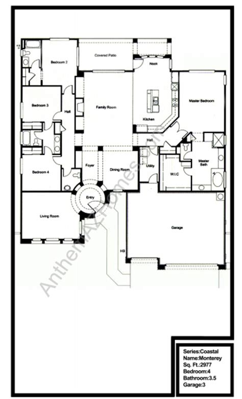 Country Club Floor Plans | anthem country club floor plans