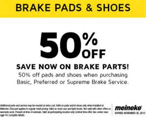 Auto Brake Center Coupon January 2017 50 Brake Parts With The Purchase Of