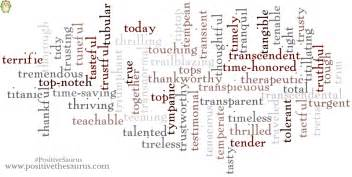 Positive words for you positive adjectives that start with t