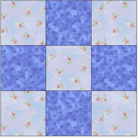 Baby Block Quilt Patterns For Beginners by 9 Block Baby Quilt Patterns Baby Patterns