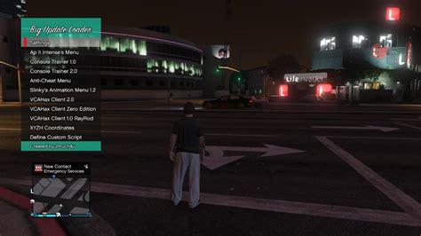 mod gta 5 online ps3 1 20 grand theft auto 5 чит меню 1 20 big update v1 0