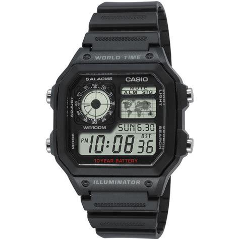 Casio Ae 1200wh 1avdf casio collectie ae 1200wh 1avef horloge ean