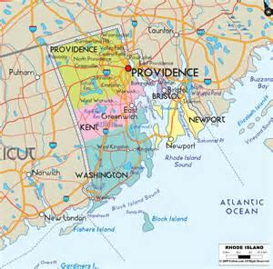 map usa rhode island political map of rhode island ezilon maps