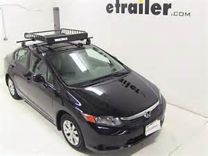 Honda Yakima Honda Civic Yakima Loadwarrior Roof Rack Cargo Basket
