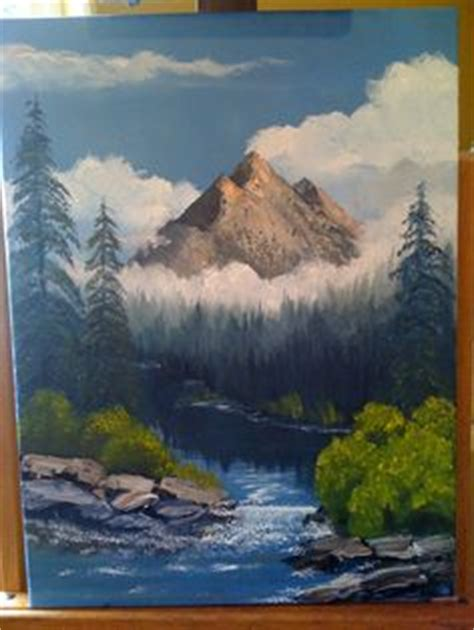 bob ross painting holidays uk oliver cabin by randall ogle painting