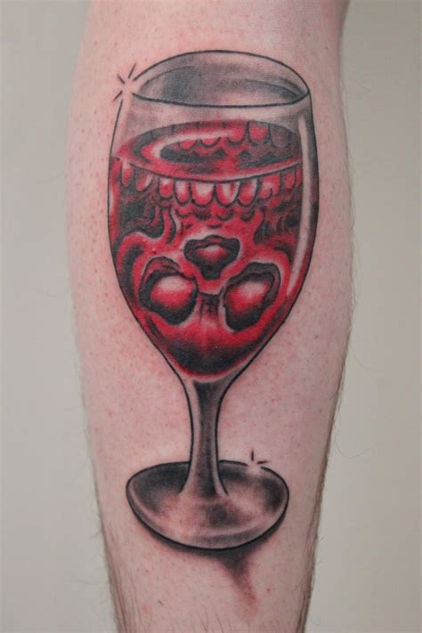glasses tattoo 60 glass tattoos and ideas