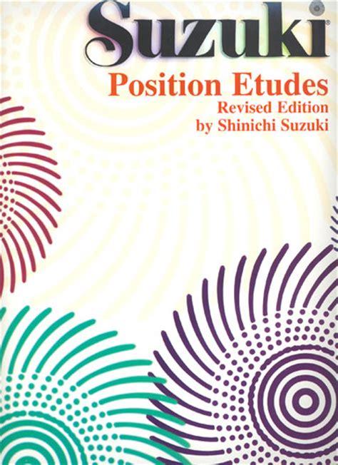 Suzuki Etude Suzuki Position Etudes