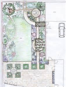 Layout Of Garden Garden Design Masterplan West Frances Hainsworth