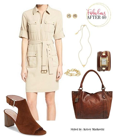 Syafira Dress what to wear with safari dress chic safari clothing for