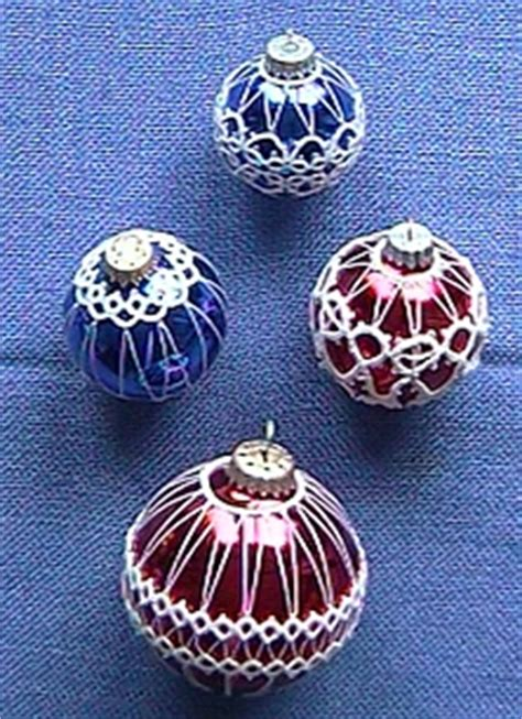tatting ornament patterns dreams of lace tatting showcase ornaments