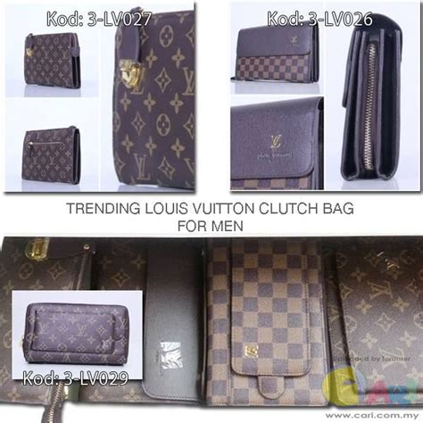 Harga Kasut Chanel kasut gucci lv dan clutch bag lv lelaki beg kasut topi