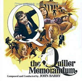 quills movie soundtrack the quiller memorandum soundtrack 1966