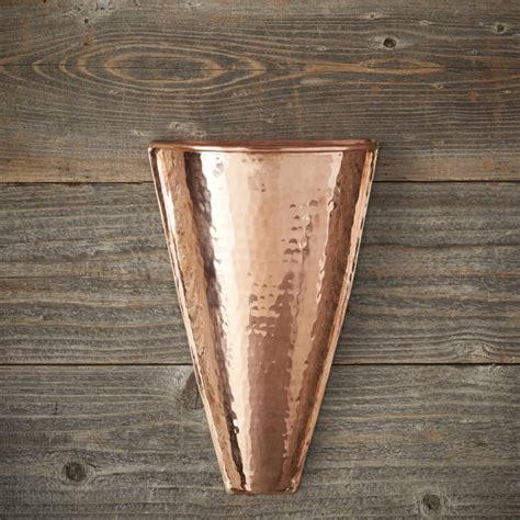 Copper Wall Planter by Copper Wall Planter Williams Sonoma