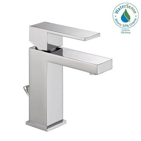 Modern Faucets For Bathroom by Delta Modern Single Single Handle Bathroom Faucet In
