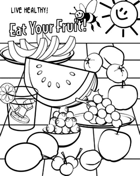 Nutrition Coloring Pages For Kindergarten by 85 Nutrition Coloring Pages For Kindergarten