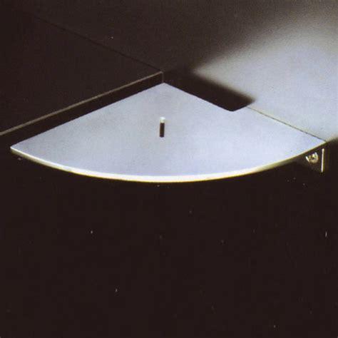 Stainless Corner Shelf by Boffi Blade Corner Shelf Satinised Stainless Steel
