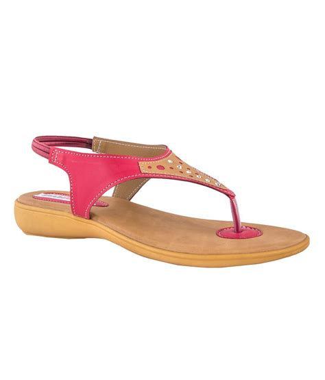 Fever Pink pink fever pink flat sandals price in india buy pink