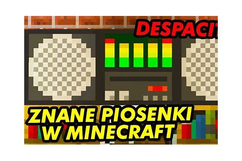 piosenka to jest minecraft download