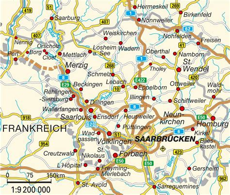 map of saarbrucken germany map saarland saarland germany maps and directions at