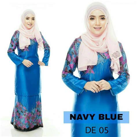 baju kurung moden d yana baju melayu online royal blue baju kurung moden delia
