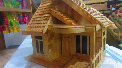 cara membuat rumah adat batak dari kardus miniatur rumah adat youtube