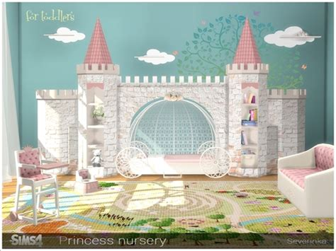Kids Bedroom Furniture Stores severinka s princess nursery sims 4 updates sims 4