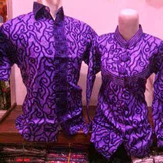 Hem Batik Ciplukan Asli Pekalongan hem batik pekalongan seri warna ungu jual baju