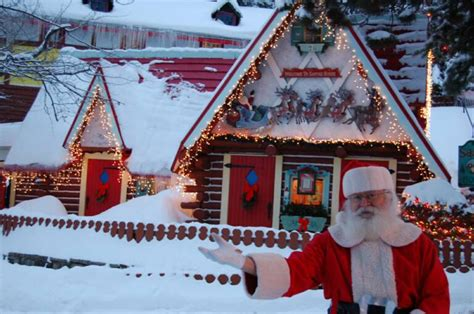Santa House top five places to hunt santa claus this
