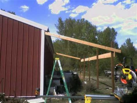 shed roof in a day youtube